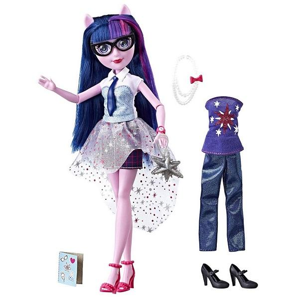 Купить Hasbro Equestria Girls E1931/E2745 Кукла Девочки Эквестрии Уникальный наряд - Твайлайт Спаркл, Игровые наборы и фигурки для детей Hasbro Equestria Girls