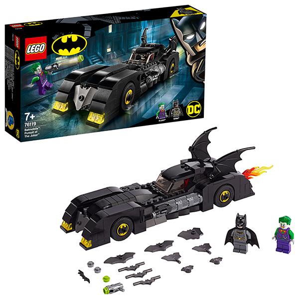 Купить LEGO Super Heroes 76119 Конструктор ЛЕГО Супер Герои Бэтмобиль: Погоня за Джокером, Конструкторы LEGO