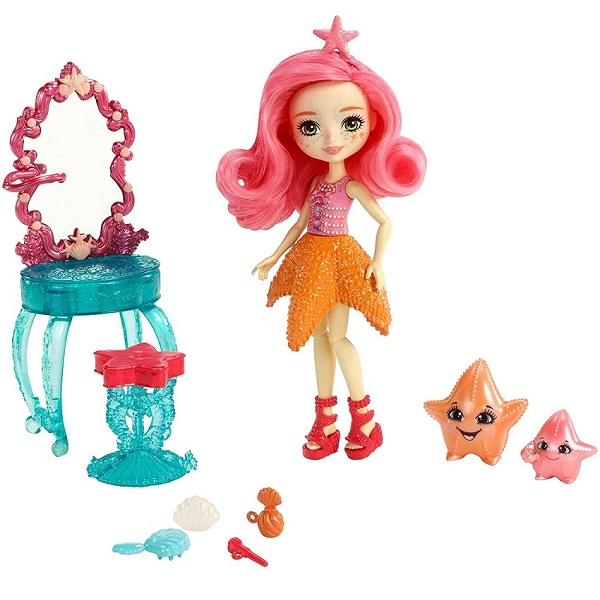 Купить Mattel Enchantimals FKV59 Морские подружки с тематическим набором, Игровые наборы и фигурки для детей Mattel Enchantimals