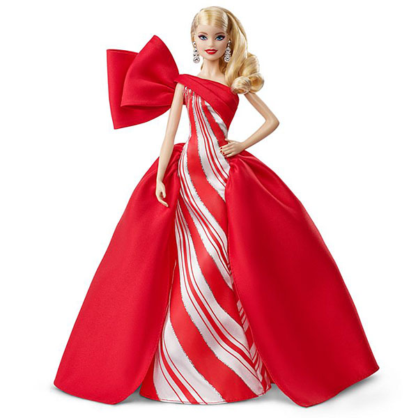 Купить Mattel Barbie FXF01 Барби Праздничная кукла блондинка, Куклы и пупсы Mattel Barbie