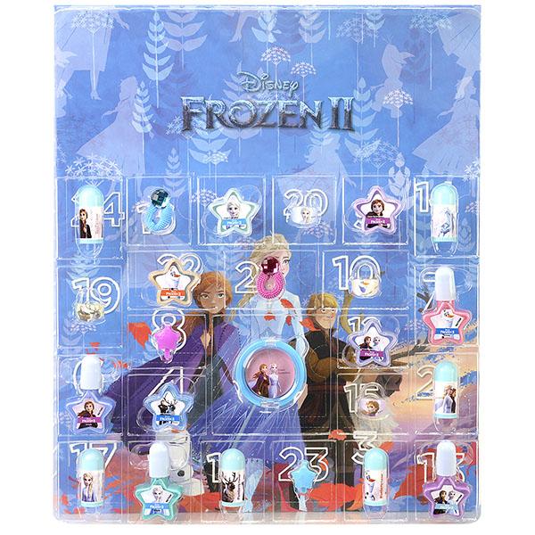 Купить Markwins 1599014E Frozen Набор детской декоративной косметики Новогодний календарь 24 подарка, Косметика для девочек Markwins