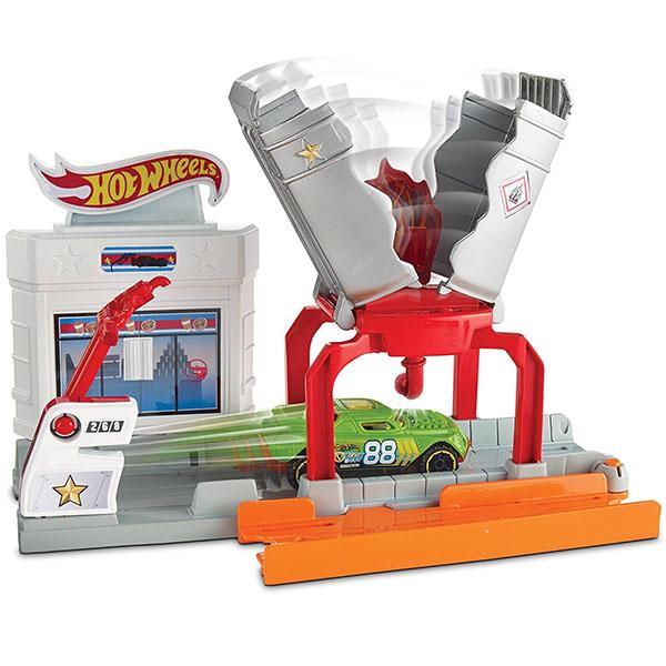 Купить Mattel Hot Wheels DWL01 Игровой набор Взрывная трасса, Игровой набор Mattel Hot Wheels