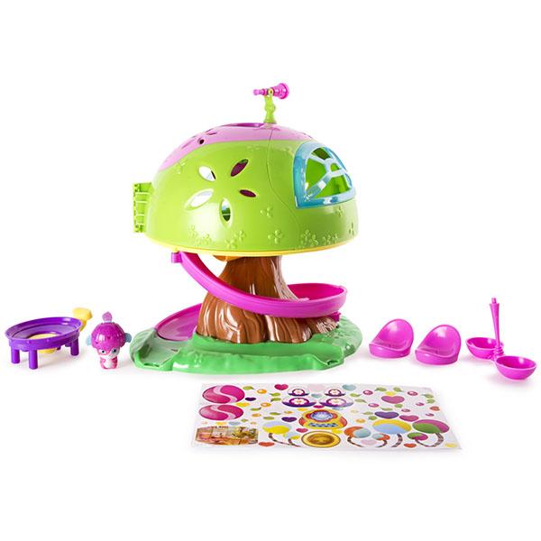 Popples 56307 Малыши-прыгуши Игровой набор Дом на дереве