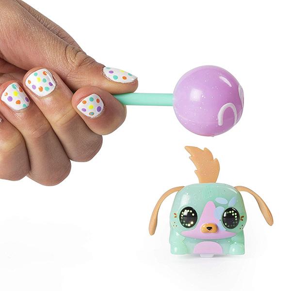 Купить Zoomer 6045467 Зумер Лоллипетс набор из двух электр. игрушек (управляй зверьком с помощью сладости), Игровые наборы и фигурки для детей Zoomer