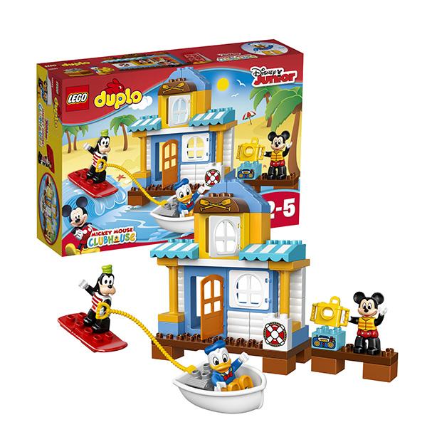 Купить LEGO DUPLO 10827 Конструктор ЛЕГО ДУПЛО Домик на пляже, Конструктор LEGO