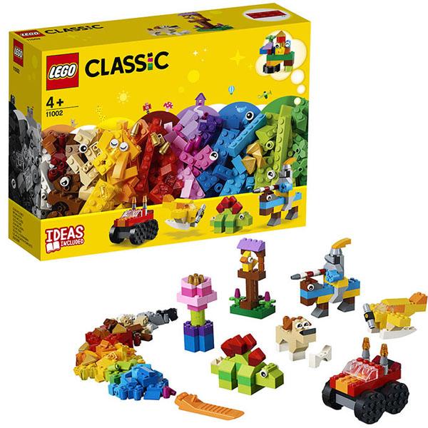 Купить LEGO Classic 11002 Конструктор ЛЕГО Классик Базовый набор кубиков, Конструкторы LEGO