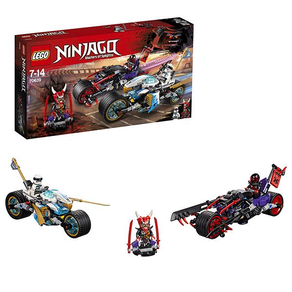 Купить LEGO Ninjago 70639 Конструктор ЛЕГО Ниндзяго Уличная погоня, Конструкторы LEGO