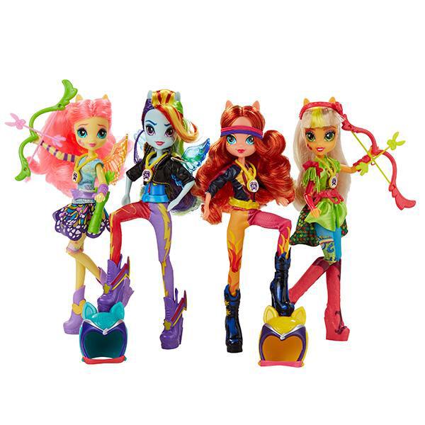Купить Hasbro My Little Pony B1771 Май Литл Пони Equestria Girls Кукла спорт Вондеркольты (в ассортименте), Кукла Hasbro Equestria Girls
