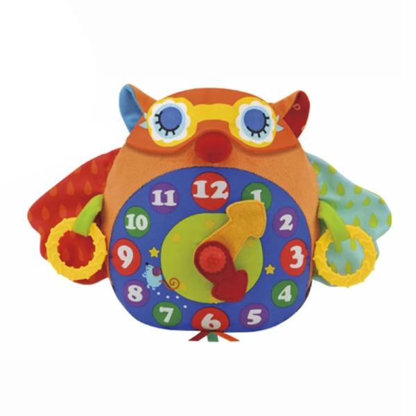 Купить K'S Kids KA662 Развивающая игрушка Часы-Сова , Развивающие игрушки для малышей K'S Kids