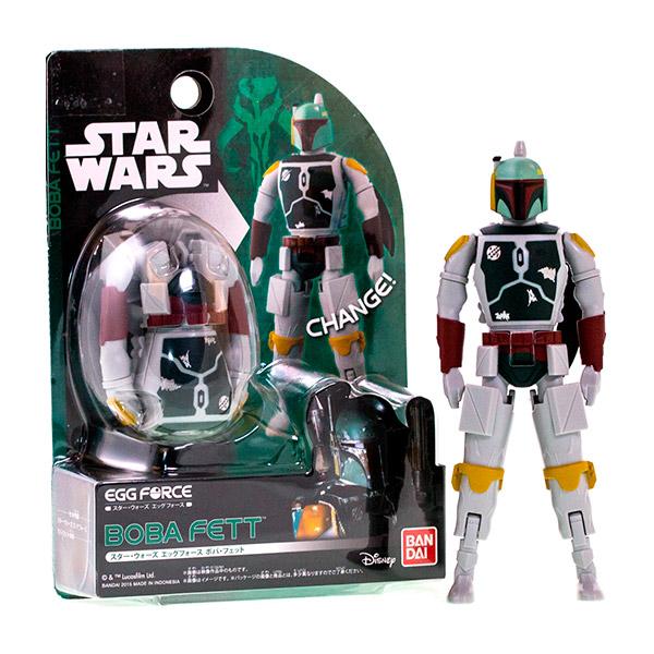 Купить Star Wars Bandai 84645 Звездные Войны Яйцо-Трансформер Боба Фетт, Фигурка трансформер Star Wars Bandai