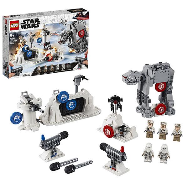 Купить LEGO Star Wars 75241 Конструктор ЛЕГО Звездные Войны Защита базы Эхо, Конструкторы LEGO