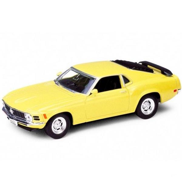 Купить Welly 49767 Велли Модель винтажной машины 1:34-39 Ford Mustang 1970, Машинка инерционная Welly
