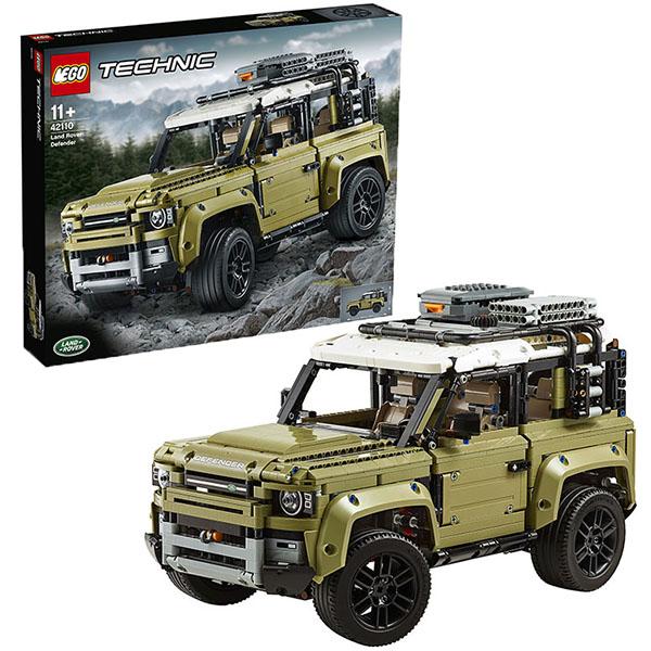 Купить LEGO Technic 42110 Конструктор ЛЕГО Техник LAND ROVER DEFENDER, Конструкторы LEGO