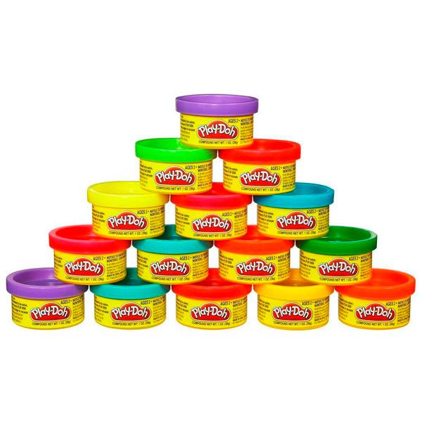 Купить Hasbro Play-Doh 18367 Набор Пластилина для Праздника (15 банок), Пластилин Hasbro Play-Doh