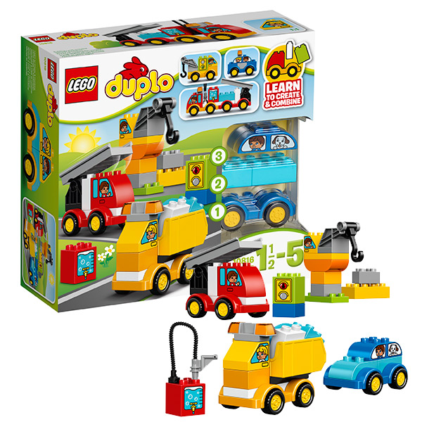 Lego Duplo 10816 Конструктор Лего Дупло Мои первые машинки, арт:126566 - Дупло, Конструкторы LEGO