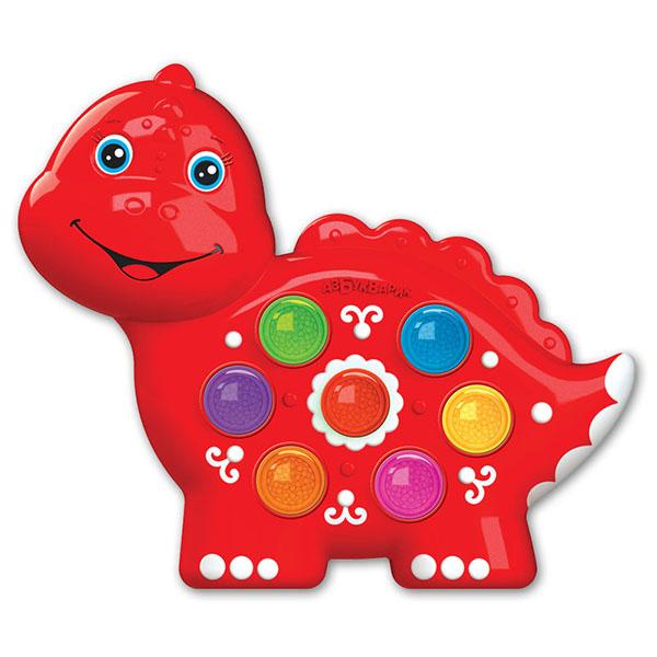 Купить Азбукварик 2221 Веселушки Динозаврик , Музыкальная игрушка Азбукварик
