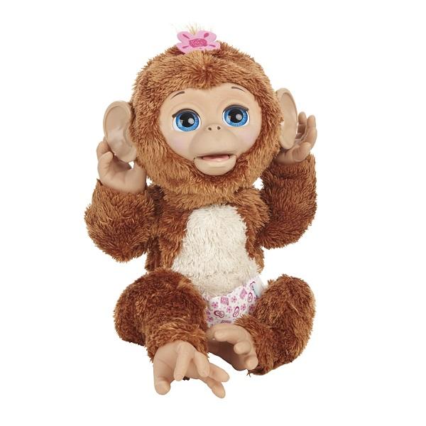 Hasbro Furreal Friends A1650 Смешливая обезьянка, арт:132679 - Животные, Интерактивные игрушки