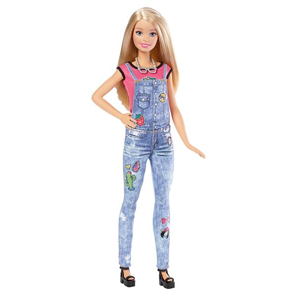 Купить Mattel Barbie DYN93 Барби Игровой набор Эмоджи , Кукла Mattel Barbie