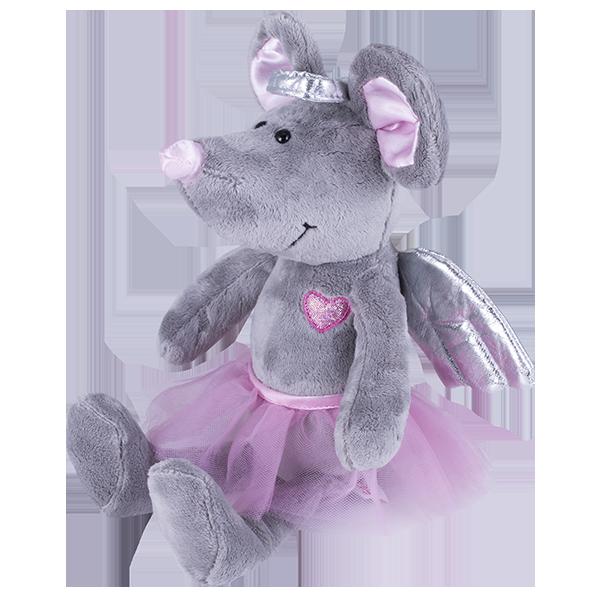 Мягкие игрушки SOFTOY — SOFTOY S882/15 Мягкая игрушка Мышка, 26см