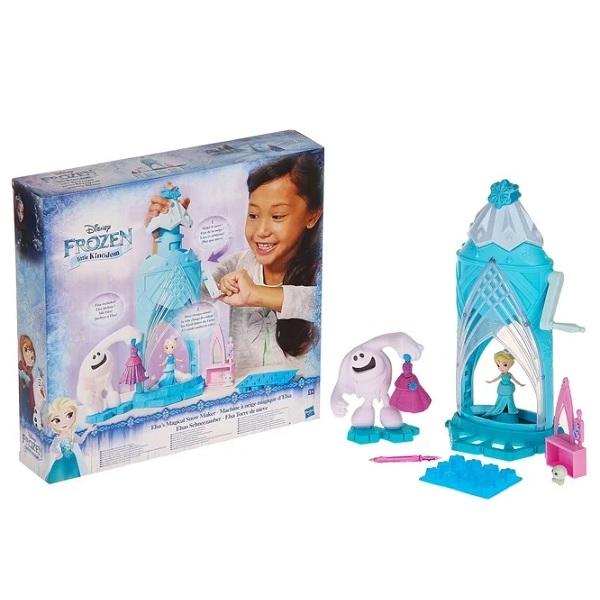 Hasbro Disney Princess C0461 Замок Эльзы Сделай волшебный снег, арт:155226 - Холодное сердце, Куклы и аксессуары