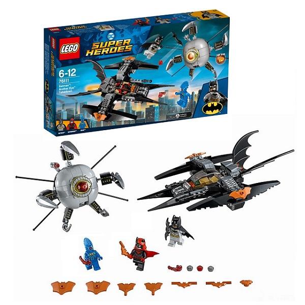 Lego Super Heroes 76111 Конструктор Лего Супер Герои Бэтмен: ликвидация Глаза брата