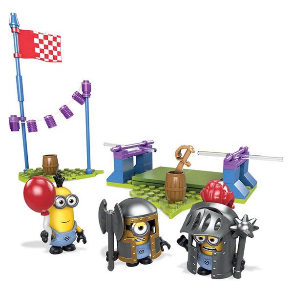 Купить Mattel Mega Bloks DPG69 Мега Блокс Миньоны: фигурки персонажей, Конструктор Mattel Mega Bloks