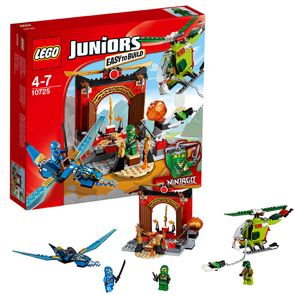 Купить Lego Juniors 10725 Лего Джуниорс Затерянный храм, Конструктор LEGO
