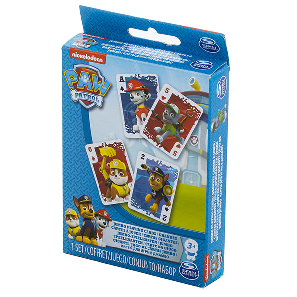Купить Spin Master 6033298 Игровые карты Щенячий Патруль, Настольная игра Spin Master