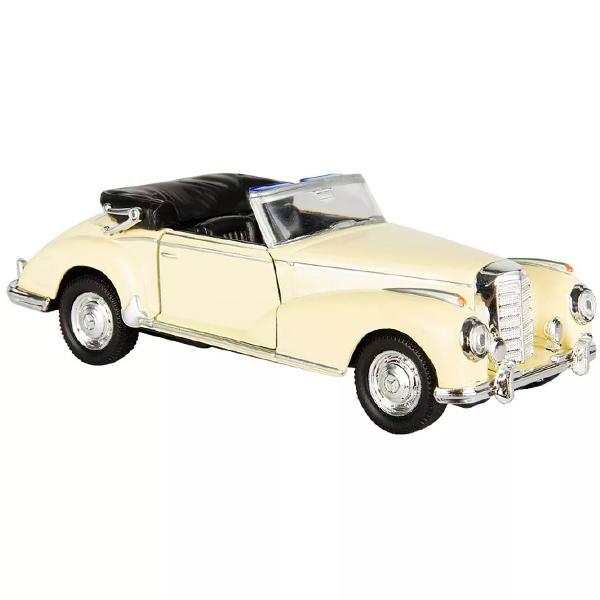 Купить Welly 42341 Велли Модель винтажной машины 1:34-39 Mercedes-Benz 300S 1955, Машинка инерционная Welly