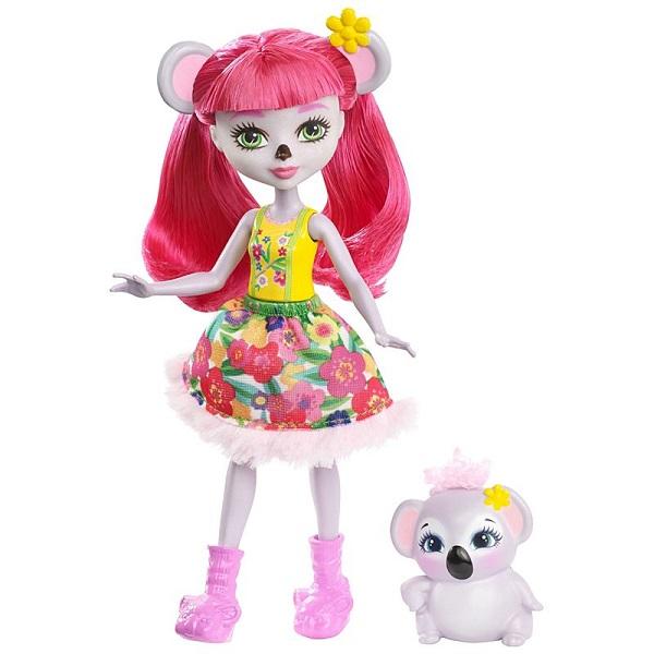 Купить Mattel Enchantimals FNH24 Кукла с питомцем - Коала, Куклы и пупсы Mattel Enchantimals