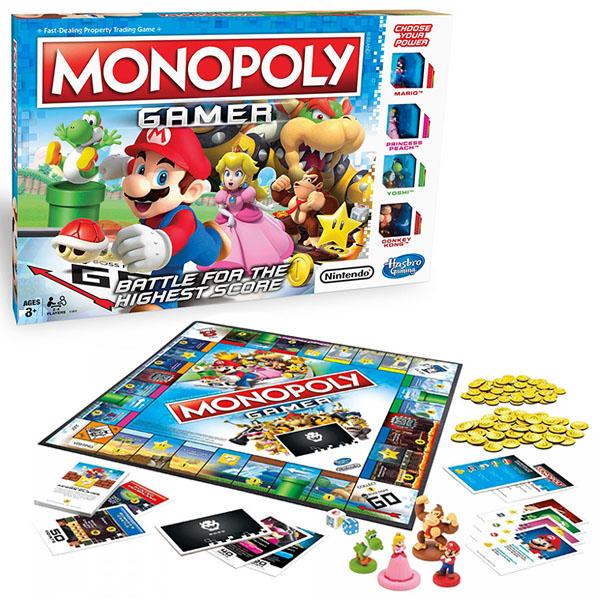 Купить Hasbro Monopoly C1815 Монополия Геймер, Настольная игра Hasbro Monopoly