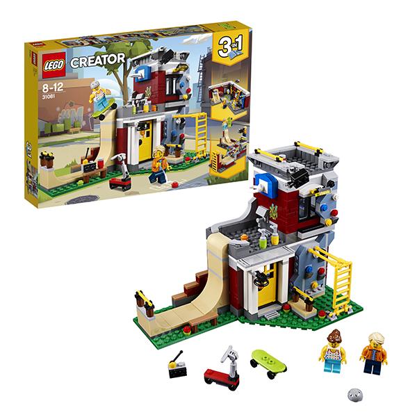 Lego Creator 31081 Конструктор Лего Криэйтор Скейт-площадка (модульная сборка), арт:152441 - Криэйтор, Конструкторы LEGO