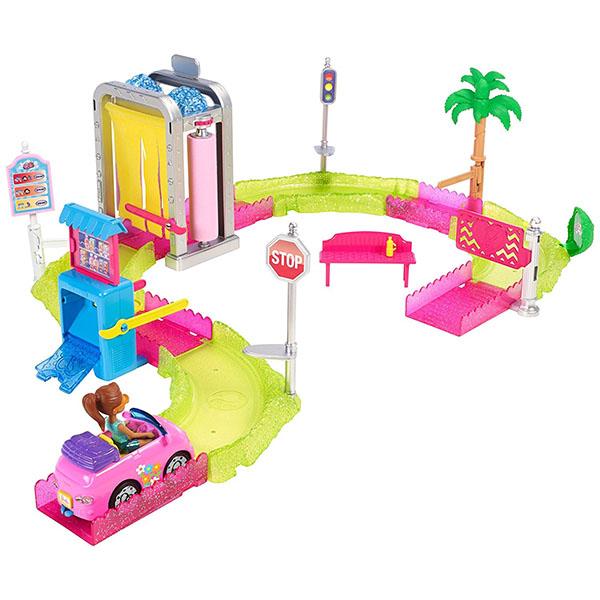 Купить Mattel Barbie FHV91 Барби В движении Игровой набор Мойка машины , Куклы и пупсы Mattel Barbie