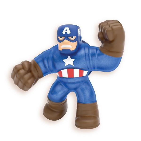 Купить GooJitZu 38181 Гуджитсу Тянущаяся фигурка Капитан Америка , Игровые наборы и фигурки для детей GooJitZu