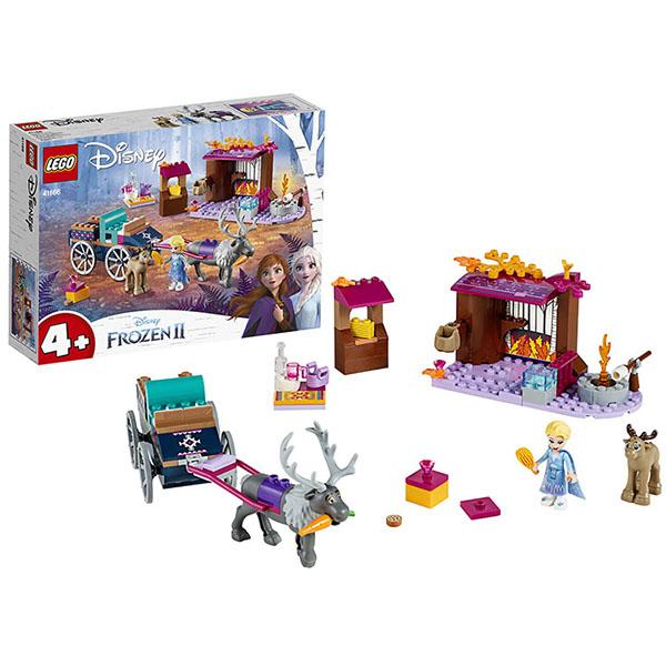 Купить LEGO Disney Princess 41166 Конструктор ЛЕГО Принцессы Дисней Дорожные приключения Эльзы, Конструкторы LEGO