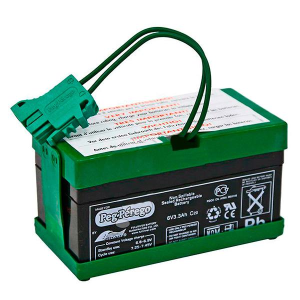 Купить Peg-Perego IAKB0022 Пег-Перего Аккумулятор 6V 6, 5A/h, Аккумулятор Peg-Perego
