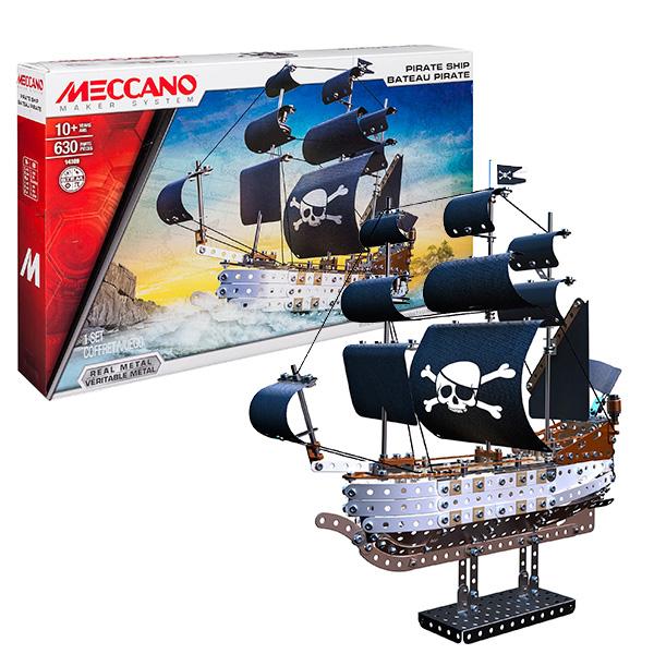 Meccano 91781_9 Меккано Пиратский корабль от Toy.ru