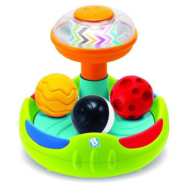 """Развивающие игрушки для малышей B kids 005353 Юла с шариками """"Sensory"""" фото"""