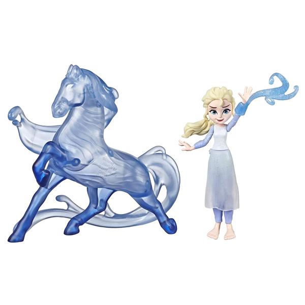 Купить Hasbro Disney Princess E5504/E6857 ХОЛОДНОЕ СЕРДЦЕ 2 Делюкс Эльза и Нокк, Кукла Hasbro Disney Princess