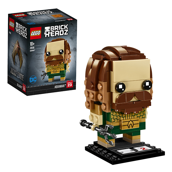 Lego BrickHeadz 41600 Конструктор Лего БрикХедз Аквамен, арт:152379 - BrickHeadz, Конструкторы LEGO