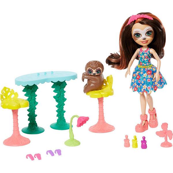 Куклы и пупсы Mattel Enchantimals GFN54 Кукла со зверюшкой и тематическим набором фото