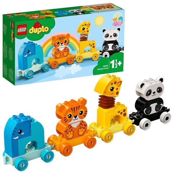 LEGO DUPLO 10955L Конструктор ЛЕГО Дупло Поезд для животных по цене 1 499