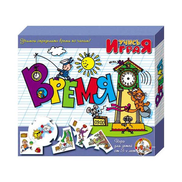 """Развивающие игрушки для малышей Десятое королевство TD00061 Игра обучающая Учись играя """"Время"""" фото"""