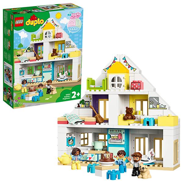 Купить LEGO DUPLO 10929 Конструктор ЛЕГО ДУПЛО Модульный игрушечный дом, Конструкторы LEGO