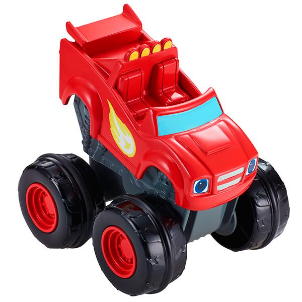 Купить Mattel Blaze CGK23 Вспыш и чудо-машинки, Вспыш, Машинка Mattel Blaze