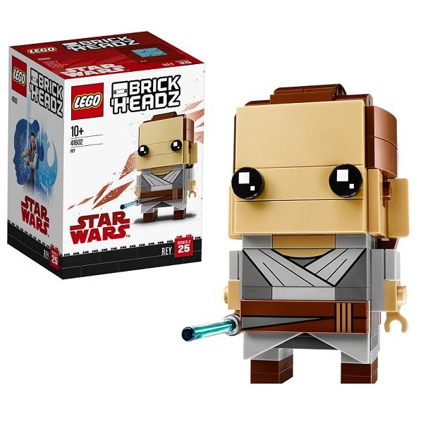Lego BrickHeadz 41602 Конструктор Лего БрикХедз БрикХедз Рей, арт:152383 - BrickHeadz, Конструкторы LEGO