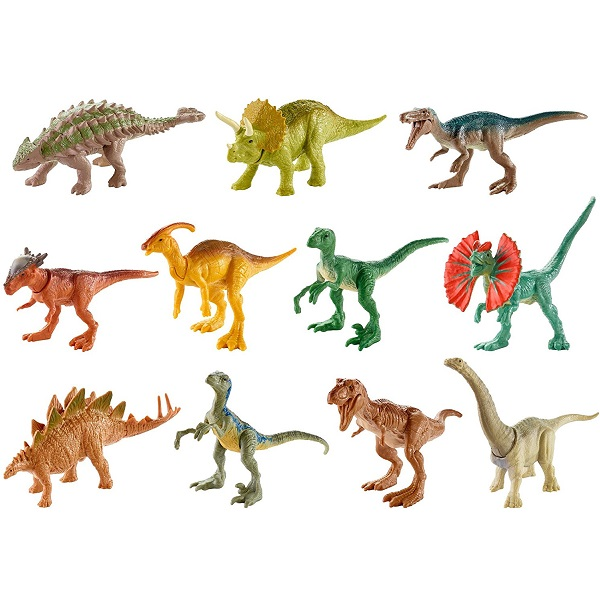 Купить Mattel Jurassic World FML69 Мини-динозавры (в ассортименте), Игровые наборы и фигурки для детей Mattel Jurassic World
