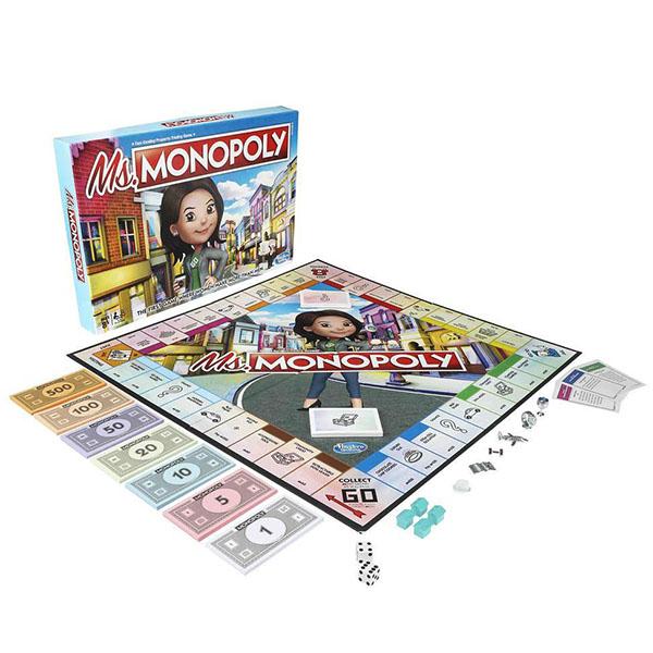 Настольные игры Hasbro Monopoly Hasbro Monopoly E8424 Игра настольная Мисс Монополия по цене 2 449