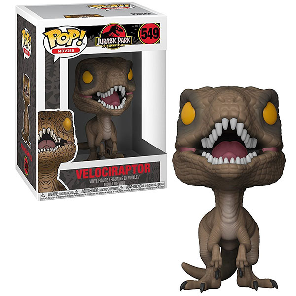 Игровые наборы и фигурки для детей Funko 26735F Фигурка Funko POP! Vinyl: Jurassic Park: Velociraptor фото