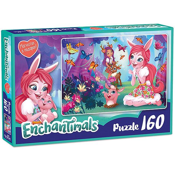 Enchantimals AST188871 Пазл Бри и Даниэсса 160 элементов - Настольные игры